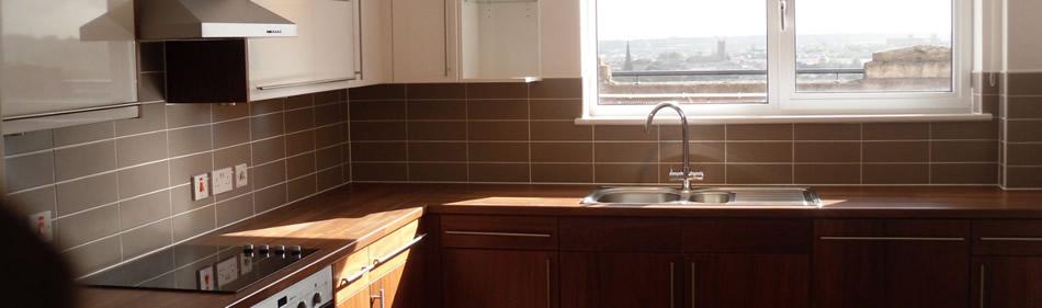 Kitchen Floor Tiling Services Manchester P A Tiling
